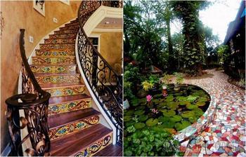 Идеи, которые заставят взглянуть по-другому на элементы декора из мозаики