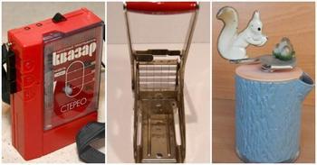 15 вещей из СССР, которые пылятся в кладовке почти в каждой квартире