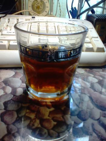 Напиток напоминающий наливку со вкусом коньяка