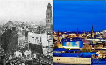 10 европейских городов, которые разрушила война, но они возродились из руин