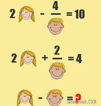 Эта простая математическая задача многих поставила в тупик