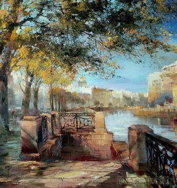 Бэгги Боем. Пейзажи Санкт - Петербурга