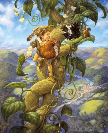 Иллюстрации к сказкам художника Скотта Густафсона (Scott Gustafson)