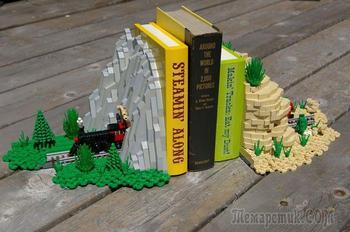 10 гениальных способов использования Lego в быту