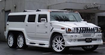 10 топовых трехосных автомобилей: От гаражных переделок до серийных авто