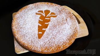 Самый простой морковный пирог в духовке
