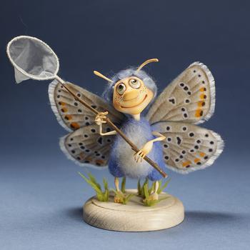 Забавные насекомые из шерсти от Ирины Егоровой-Ацикулярис