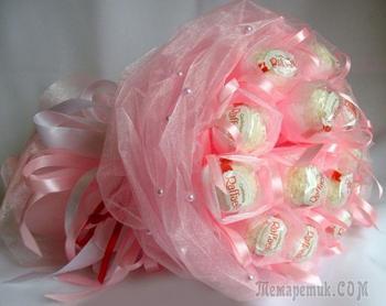 Букеты из конфет своими руками для начинающих
