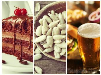 Как есть торт, щелкать семечки и пить пиво с пользой для организма