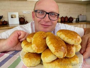 Самое популярное советское тесто для пирожков / Бабушкины пуховые пирожки с интересной начинкой
