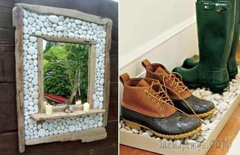 Время собирать камни: идеи поделок из гальки, которые придадут дому самобытное очарование