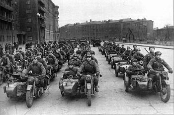 ТМЗ-53, полноприводный мотоцикл, не добравшийся до полей сражений