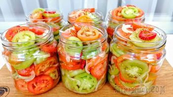 Как вкусно и просто приготовить зеленые помидоры на зиму? Зеленые помидоры вкуснее спелых