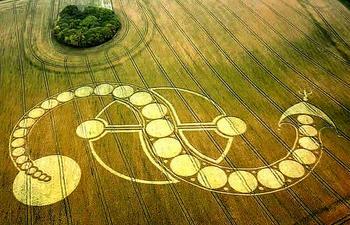 7 фантастических гигантских кругов и рисунков, которые появились в разных уголках планеты совсем недавно
