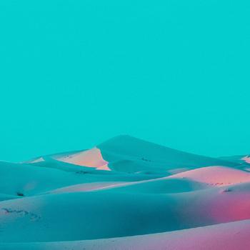Голубая дымка: прекрасные пустынные пейзажи Марьяна Атанасова