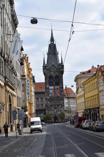 Если посмотреть «свысока»… на Прагу.