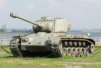 "М26 ""Першинг"" - средний/тяжелый танк армии США"