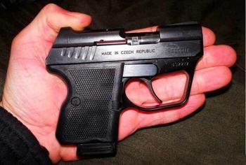 Пистолет «Кевин» - субкомпактное оружие из Чехии