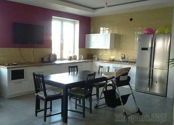 Кухня: на 28 квадратах