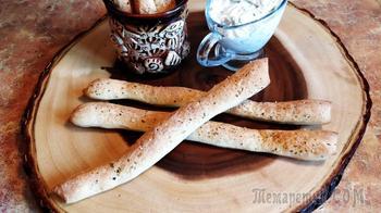 Гриссини – итальянские хлебные палочки