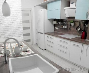 Кухня: нетривиальные решения по организации пространства