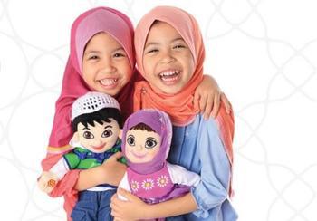 Удивительные игрушки мусульманских детей
