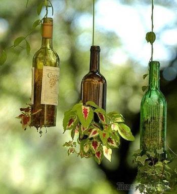 Оригинальные вещи, которые можно сделать из бутылок своими руками