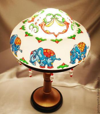 Светильник в индийском стиле