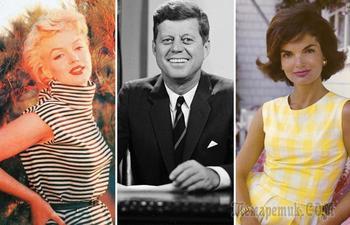 Почему супруга президента США Джона Кеннеди боялась Мэрилин Монро