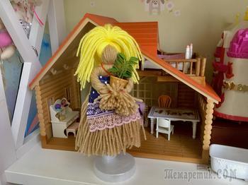 Кукла из ниток за 5 минут