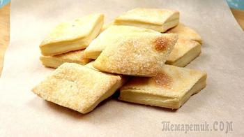 Простое печенье к чаю из трех ингредиентов!