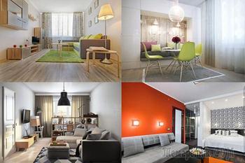 Современный дизайн однокомнатной квартиры: 13 интересных проектов