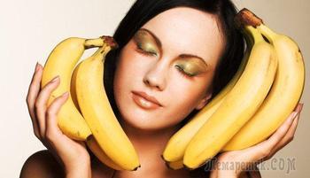 Банановые маски для волос: польза, рецепты