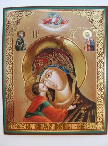 Игоревская икона Божией Матери – история святыни
