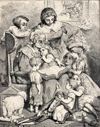 Начальные версии популярных сказок