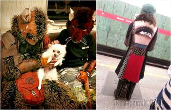 Модный вагон: 17 пассажиров метро, которые смогли бы составить достойную конкуренцию Леди Гаге