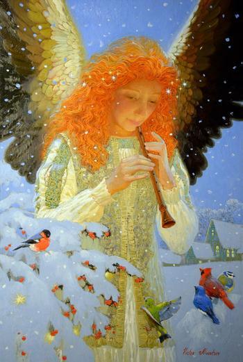 Ангелы в творчестве Виктора Низовцева