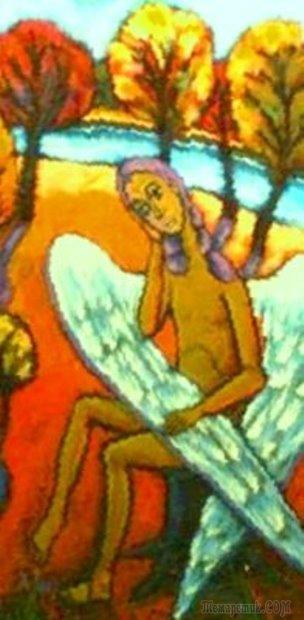 Ангелы, пейзажи и натюрморты