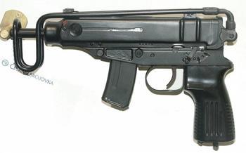 Просто, но дорого, пистолет-пулемёт WG-66 (ГДР)