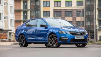 Чешская шлифмашина: сити-тест обновлённой Octavia RS