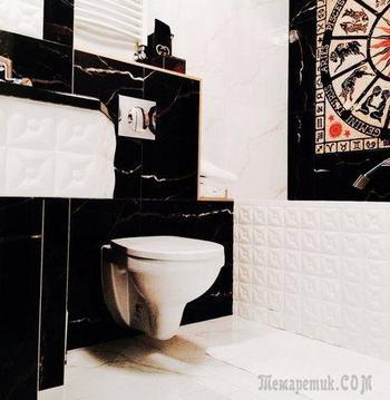 Ванная комната: гламурно, роскошно, женственно