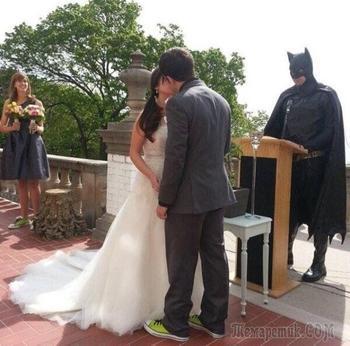 21 фотография, которая доказывает, что на свадьбе не должно быть все идеально