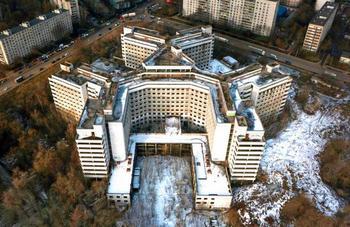 Ховринская заброшенная больница: история, легенды и чудеса
