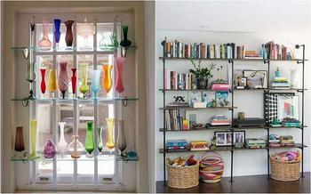 20 оригинальных и удобных полок для дома