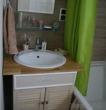 Романтичная ванная комната