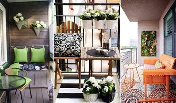 15 мастерских идей, как обустроить небольшой балкон