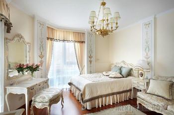 Светлые тона в интерьере спальни: особенности дизайна комнаты