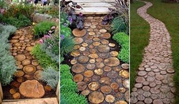 20 милых идей для тех, кто собирается делать садовую дорожку