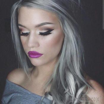 Серый цвет в окрашивании волос