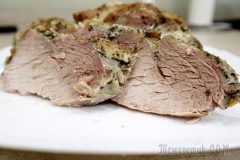Запеченная свинина в фольге
